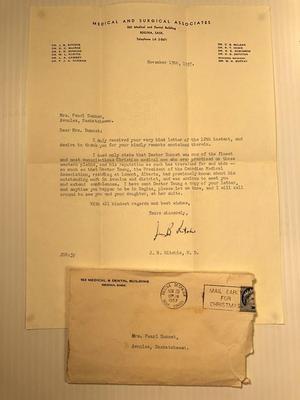 Letter in Envelop