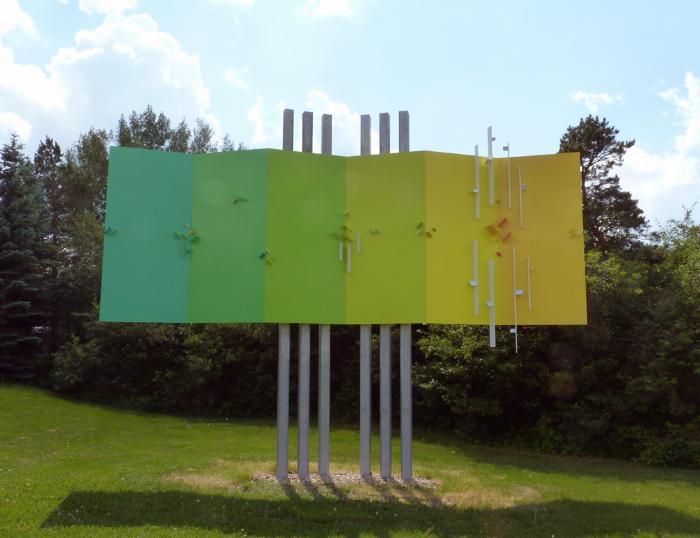 Untitled Hexaplane Structurist Relief
