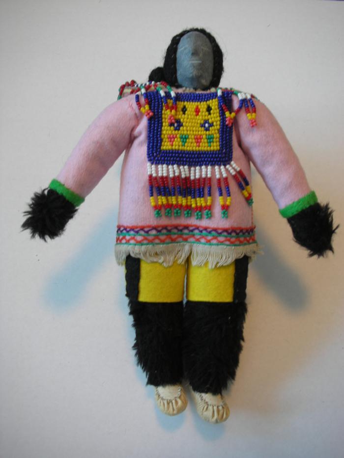 Woman Wearing Parka