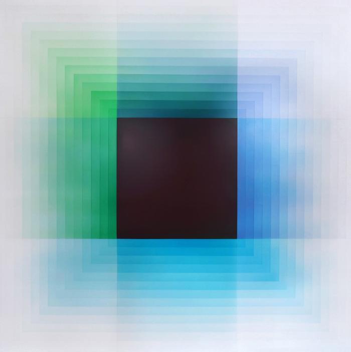 Green, Blue, Violet