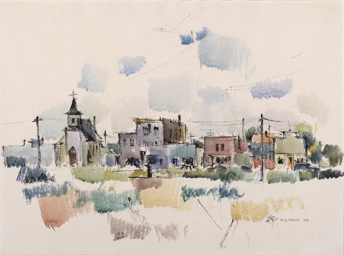 Saskatchewan Village