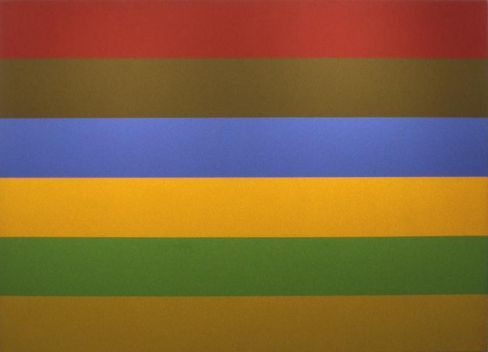 Rouge, Brun, Bleu, Jaune, Vert, Ochre No. 1