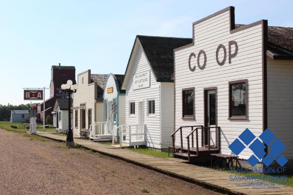North Battleford's Western Development Museum -Exterior #2