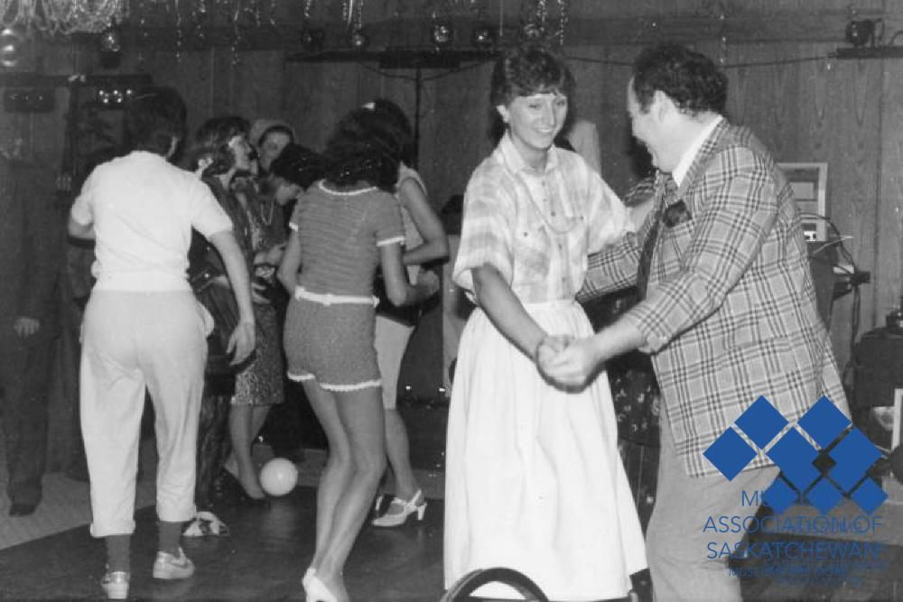 Delegates Dancing and 1987 conference