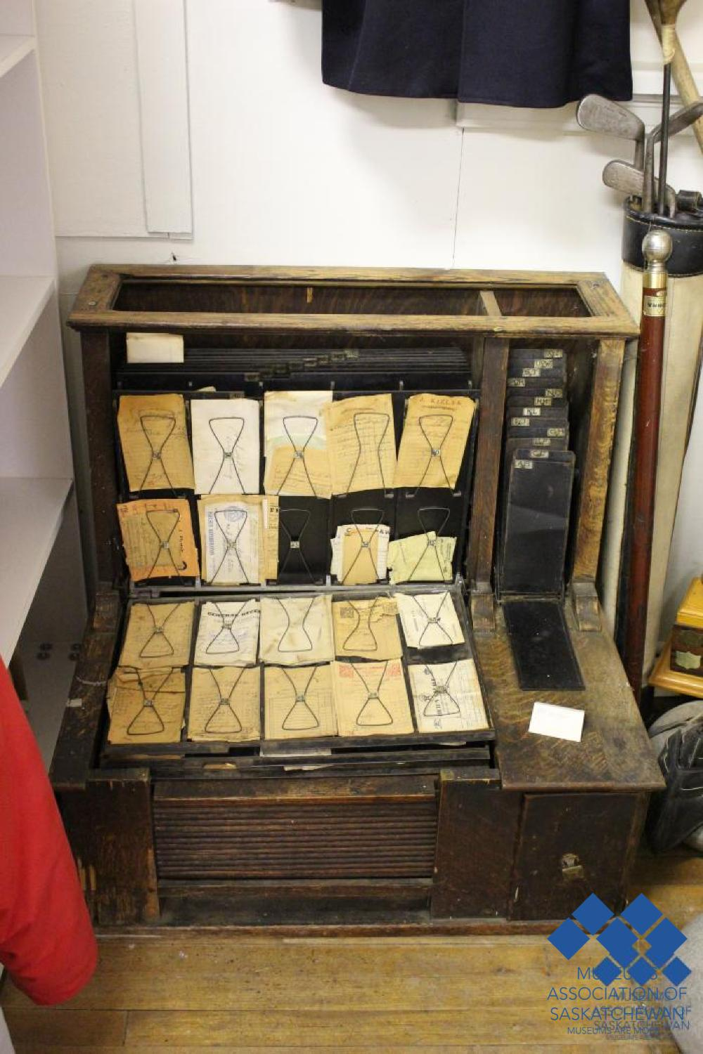 Time Cards from the Rose Valley Museum