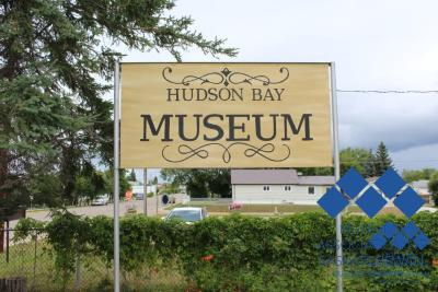 Hudson Bay Museum's Sign