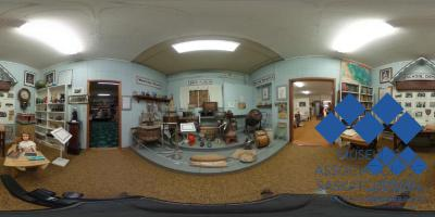 """Back Porch"" display at Lafleche & District Museum"