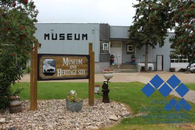 Front of Porcupine Plain and District Museum