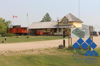 Wadena Museum with Caboose