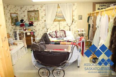 Bedroom Display at Hudson Bay Museum