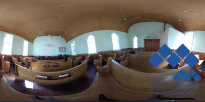 Interior of Mennonite Church