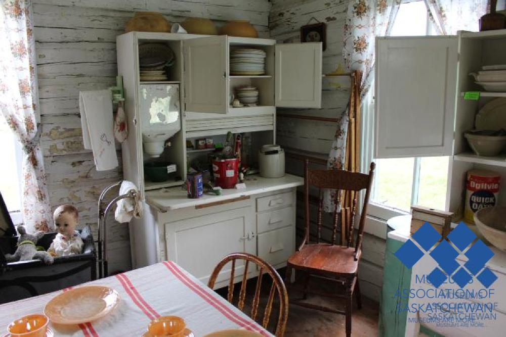 Kitchen Display at Porcupine Plain and District Museum