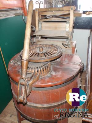 machine, washing and wringer