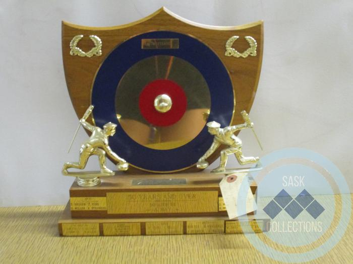 50 Years & Over Curling Trophy