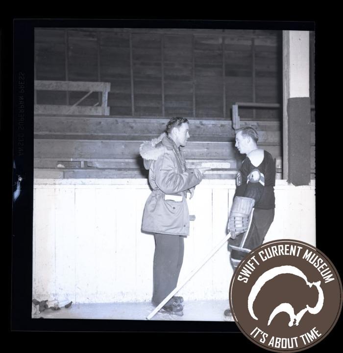 Swift Current Indian Hockey Team (1950-1951)