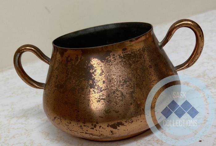 Copper Sugar Bowl