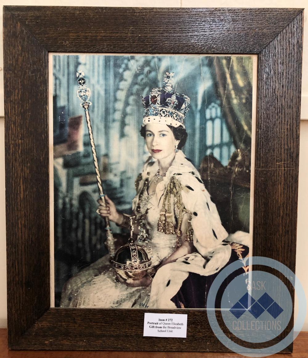 Portrait - Queen Elizabeth