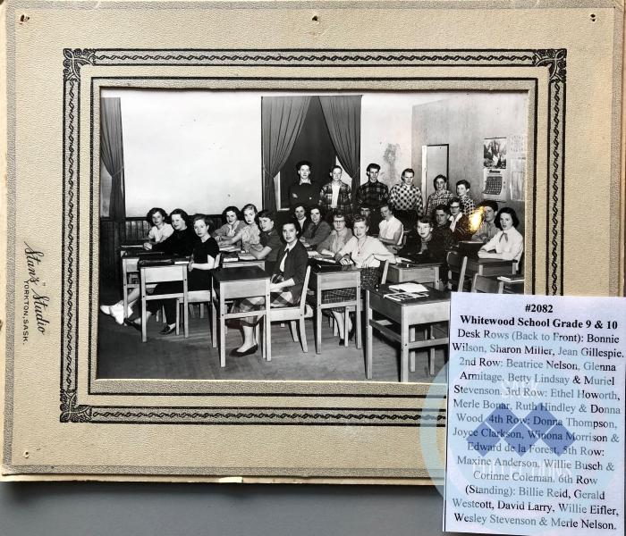 Photograph - Whitewood School Grade 9 & 10
